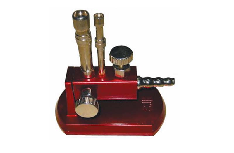 Bunsen Burner,Double Tube,Red