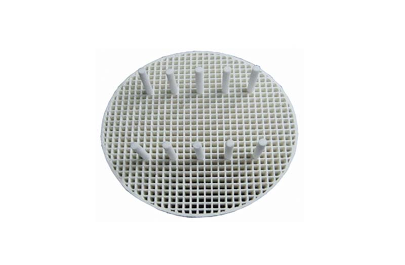 Honeycomb Firing Tray,Round,80mm,20pcs Ceramic Pins,2pcs/box
